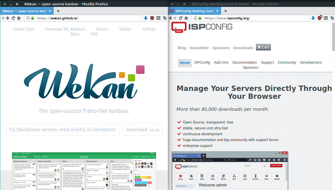Install Wekan with Ubuntu Snap and ISPConfig – www niih de